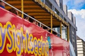 City sightseeing bus ausschnitt